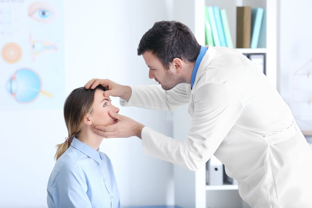 diabetes eye test