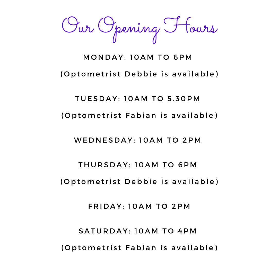 TES Opening Hours